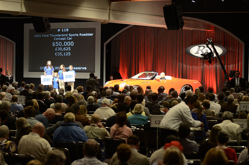 Top-10 All-Time Record-Breaking Car Auctions