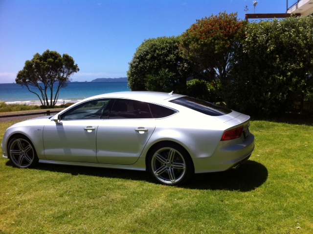 Audi A7-McCullough shipped from overseas in October 2014