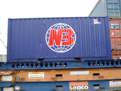 We ship containers